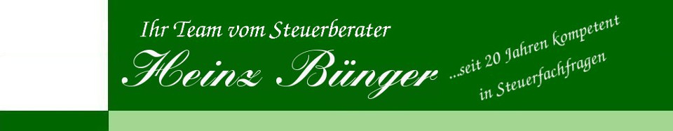 Heinz Bünger - Steuerberater